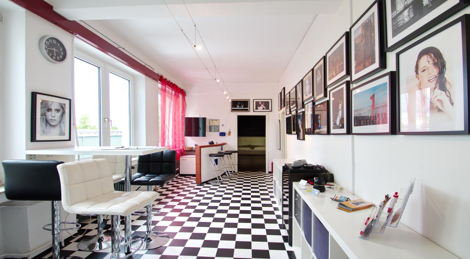 Eingangsbereich Studio